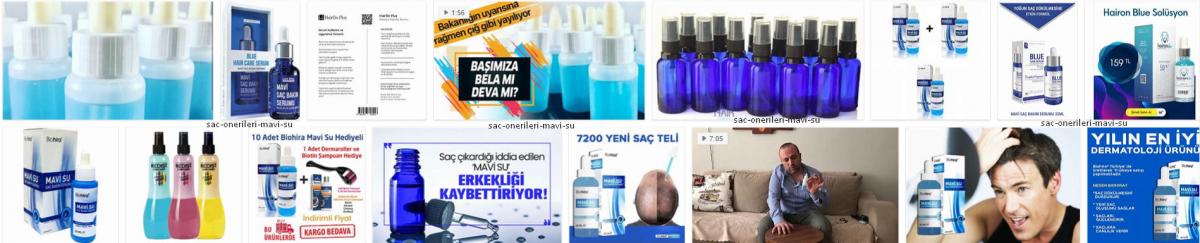 Mavi Su Nedir ? *2021 Saç Bakımı