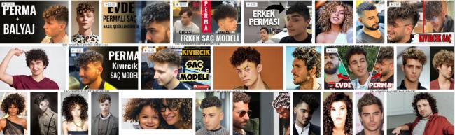 Perma Saç,Erkek Perma Saç Modelleri *2021 Genel Kategori