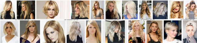 Kuaför Olmak, Saç Modelleri Genel Kategori