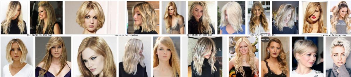 Sarı Saç Renkleri Ve Modelleri *2021 Saç Önerileri