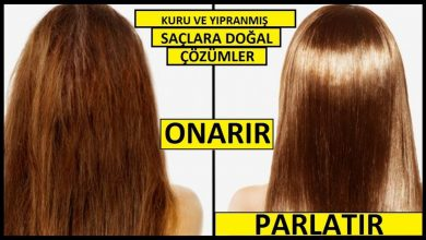Kuru Saçlar İçin Bakım (En İyi Yöntemler) Saç Bakımı